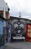 En Berlin Wall Imagenes de archivo