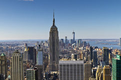 I stadens centrum New York royaltyfri fotografi
