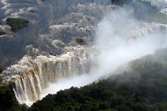 Victoria Falls i Zimbabwe Royaltyfri Fotografi