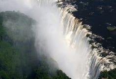 Victoria Falls i Zimbabwe arkivbild