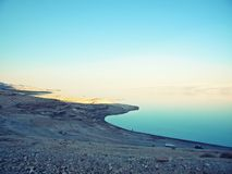 Dött hav - natur Arkivbild