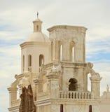 En beskickning San Xavier del Bac, Tucson Arkivbilder