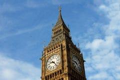 En Big Ben, drottning Elizabeth Tower Royaltyfria Bilder
