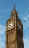 En Big Ben, drottning Elizabeth Tower Arkivfoton