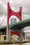 En Bilbao de Torre de Iberdrola, España Fotos de Stock Royalty Free