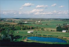 En bild av en bygd i Pennsylvania royaltyfri bild