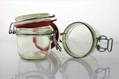 En bild av den tomma kruset - exponeringsglas Royaltyfria Bilder