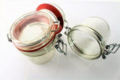 En bild av den tomma kruset - exponeringsglas Fotografering för Bildbyråer