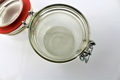En bild av den tomma kruset - exponeringsglas Royaltyfria Foton