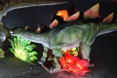 En bild av dinosaurien Arkivbild