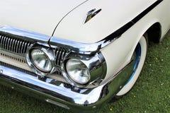 En bild av en klassiker oss bil, tappning, billykta Royaltyfri Bild