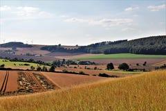 En bild av en landssida - Tyskland Royaltyfri Fotografi