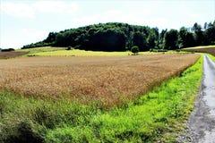 En bild av en landssida - Tyskland Arkivfoton