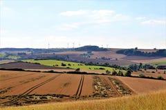 En bild av en landssida - Tyskland Royaltyfria Bilder