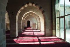 En bild togs i en moské under namnet av Dyvrigi Royaltyfri Fotografi