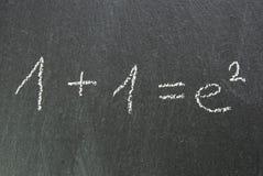 Blackboard som gör försvårad saker, som de är Arkivbild