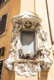 En blanco firme adentro Roma. Fotografía de archivo libre de regalías