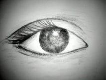 En blyertspenna skissar illustrationen Skissa teckningen arkivfoto