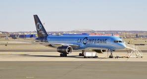 En Boeing 757 från La Compagnie (B0) Royaltyfria Foton