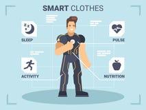 En bogserare för mankonditiongrejer och Smart kläder Royaltyfri Bild
