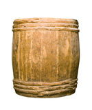 en bois complet vieil de baril image libre de droits