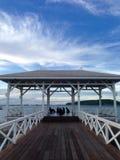 En bois de pont d'Atsadang bel Photographie stock libre de droits