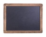 en bois de trame de tableau noir petit Image stock