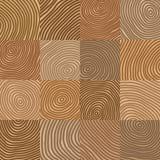 En bois géométrique simple abstrait comme le modèle de vecteur - backgrou Photos libres de droits