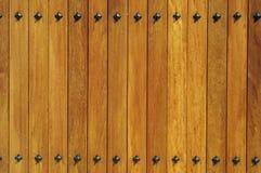 En bois jaune Photo libre de droits