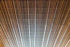 En bois moderne avec le plafond Photos stock