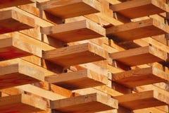 En bois préparez pour le marché Photographie stock
