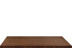 En bois supérieur photographie stock libre de droits