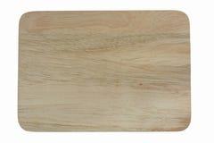 En bois sur le fond blanc Chemin de coupure Image stock