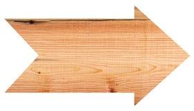 En bois vides se connectent le fond blanc Photo libre de droits