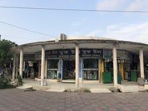 En bokhandel på den nya marknaden i Dhaka Fotografering för Bildbyråer