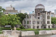 En-bombardera minnesmärken fördärvar i Hiroshima Fotografering för Bildbyråer