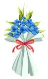 En boquet av blommor Arkivfoton