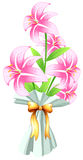 En boquet av nya blommor Arkivbilder