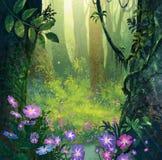 En bosque Imágenes de archivo libres de regalías