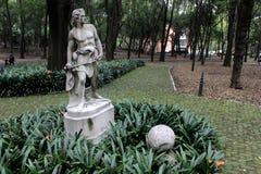 En Bosque de chapultepec de Estatua fotografia de stock royalty free
