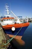 En bretagne de guilvinec de Le port du Photo libre de droits