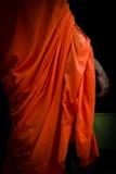 En buddistisk munk av Phnom Phen, Cambodja Arkivbild