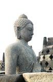 En buddistisk staty Arkivbild