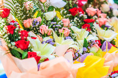 En bukett av blomman Fotografering för Bildbyråer