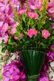 En bukett av blommor Arkivbild