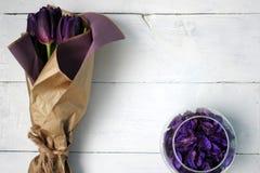 En bukett av tulpan Royaltyfri Fotografi