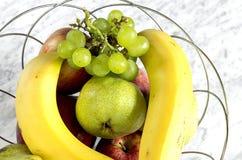 En bunke av frukt Royaltyfri Bild