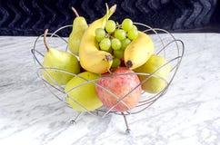 En bunke av frukt Royaltyfri Fotografi