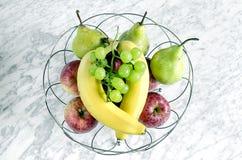 En bunke av frukt Royaltyfria Foton