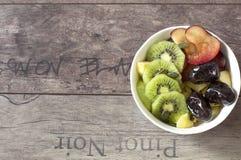 En bunke av frukter arkivfoton